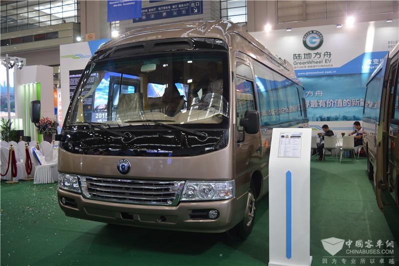8.3米氢燃料电池客车