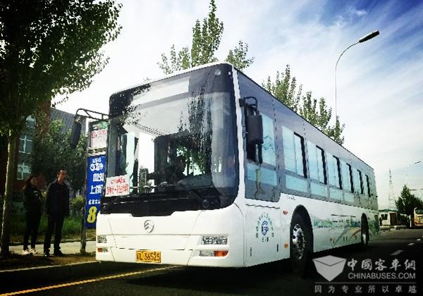 """辽宁盘锦:坚持一张""""公交都市""""蓝图绘到底"""