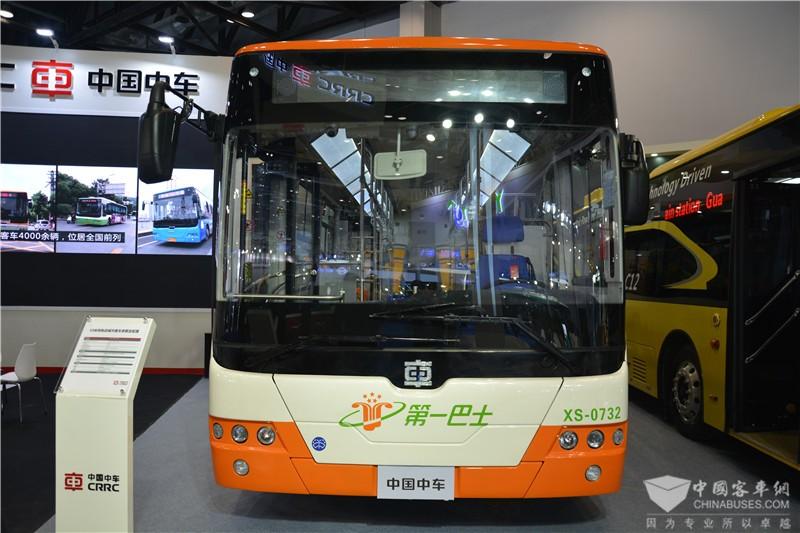 """中车电动携""""十年成果""""亮相节能与新能源汽车展"""