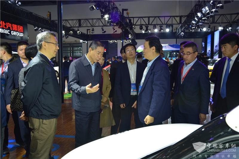 第五届节能与新能源汽车成果展召开