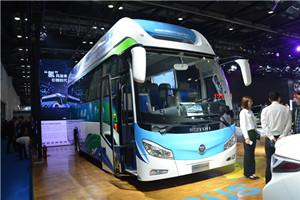 多款燃料电池客车亮相新能源汽车成果展