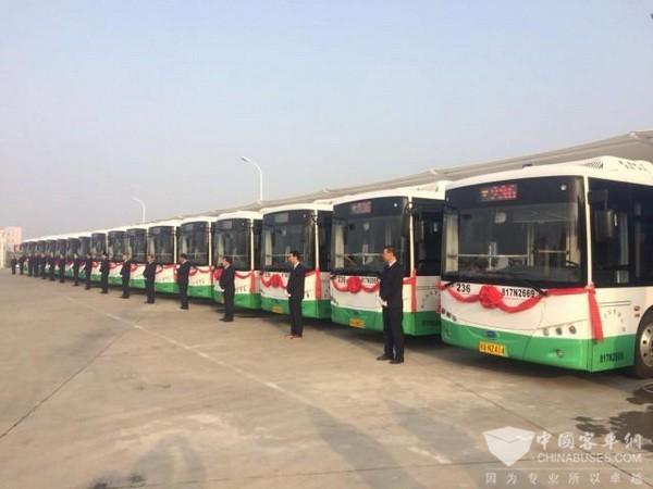 武汉汉南:新开15条公交线 新增100台新能源车