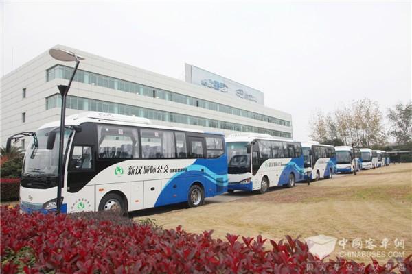 海格客车护航湖北城际客运公交化改造