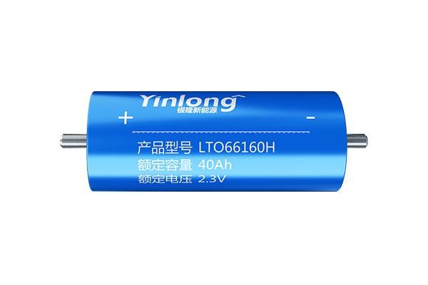 银隆钛圆柱电池
