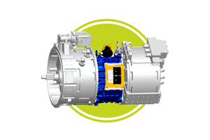 绿控MHD系列增强版混联混合动力系统