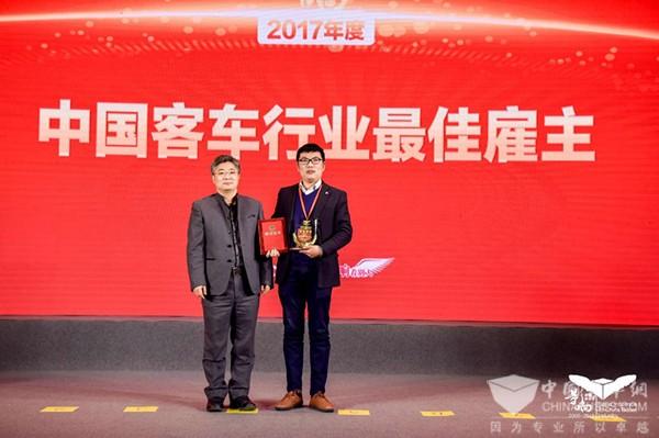 又传捷报 中车电动问鼎影响中国客车业两项大奖