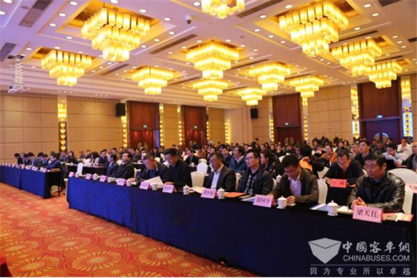 聚焦绿色、安全、技术创新|2017年中国客车学术年会在常州召开