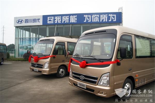 性能优越品质稳定 致道客车扬州市机关公务车交车仪式成功举行