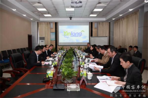 珠海副市长芦晓凤一行到银隆新能源调研