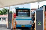 山西太原:首个公交充电场站充电站完成送电
