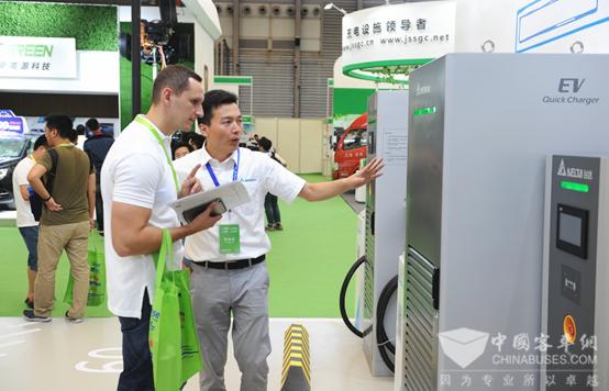 充电设施政策红包不断  上海充电设备展8月23举行