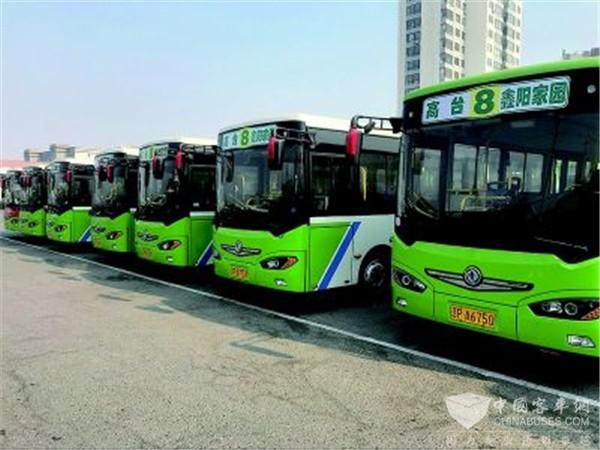 葫芦岛:新能源公交车扮靓绥中城