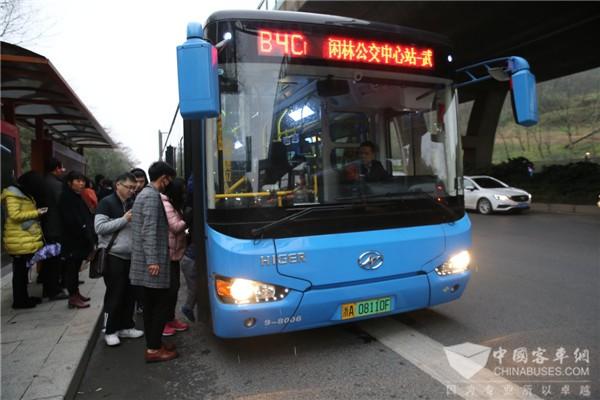 湖南:道县新能源公交输送旅客38万余人次