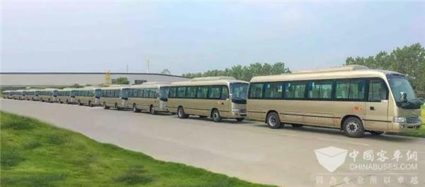 无惧严寒!30辆8.2米福尊纯电动客车将在黑龙江地区投运