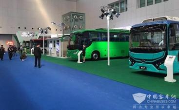 比亚迪高科技亮相天津客车展