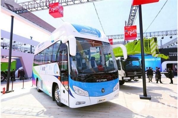 氢风已来,中国客车网探馆北京车展氢燃料展示