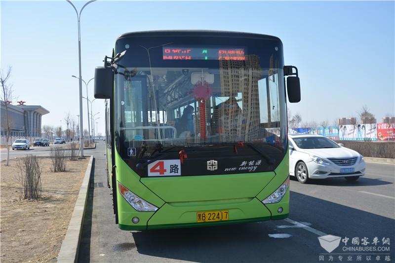 齐齐哈尔运营的纯电动客车