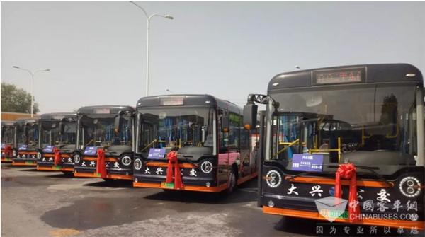 开启绿色出行模式,扬子江新能源公交车北京运营