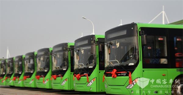 四川泸州:新增80辆新能源空调公交车