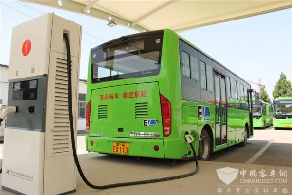福建福州:新增1453辆新能源公交车