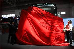 安凯第六代纯电动客车全球首发