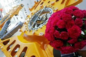 伊卡路斯的鲜花盛开在新国展