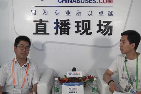 【中国客车网与行业大咖面对面】金龙客车国内营销总经理郑小虎