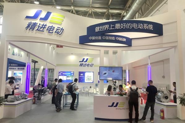 中国制造 精进电动