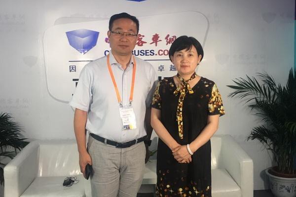 【中国客车网与行业大咖面对面】南京康尼客车事业部总经理顾俊海