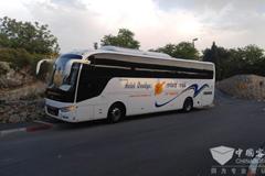 中通客车获以色列80台高端客车订单