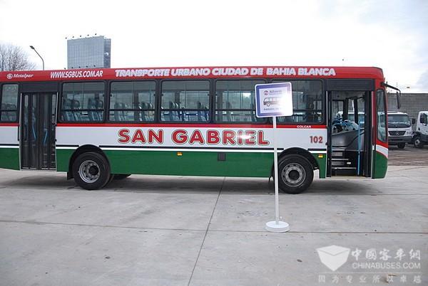 配备艾里逊变速箱的奔驰客车覆盖阿根廷20余个公交系统