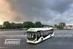 沃尔沃集团首次展示纯电动自动驾驶巴士