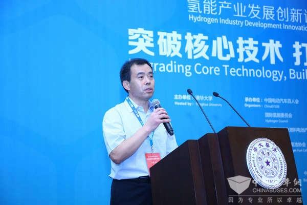 北汽张夕勇:探寻氢燃料电池汽车商业化路径