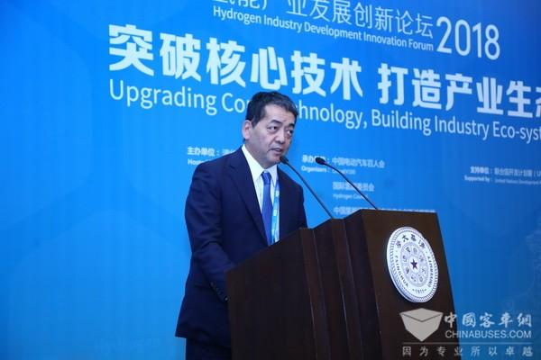 寺师茂树:丰田承诺与中国一起造出更好的汽车,引领氢能可持续性发展