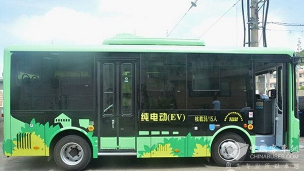 浙江:节能、环保、噪音小 舟山嵊泗县引入纯电动公交车