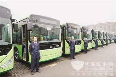 湖北:武汉陆续上线600辆纯电动公交