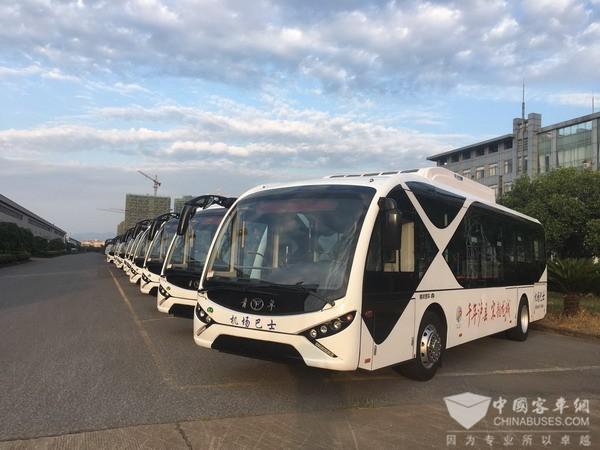 青年客车龙城再续情缘,20辆纯电动公交交付泸县