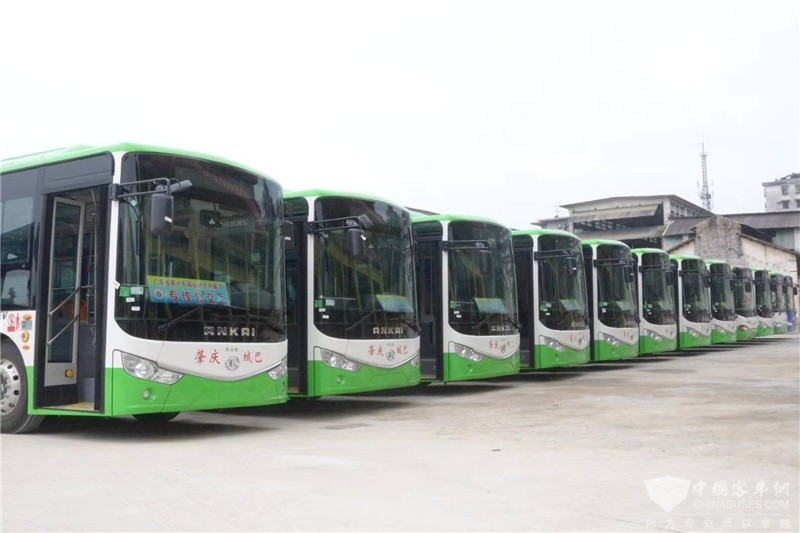 长春:市400辆纯电动公交即将上线运营