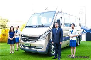 六大核心优势 24.8万起售 宇通新一代商旅客车CL6上市
