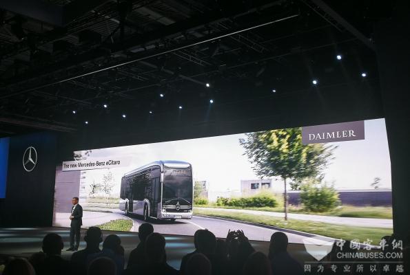 汉诺威车展 eCITARO揭示戴姆勒客车的电动化趋势
