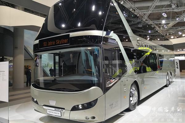 汉诺威车展 曼恩多款高端巴士惊艳全场
