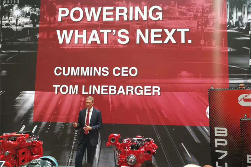 汉诺威车展  康明斯发布柴油氮氧化物准零排放技术