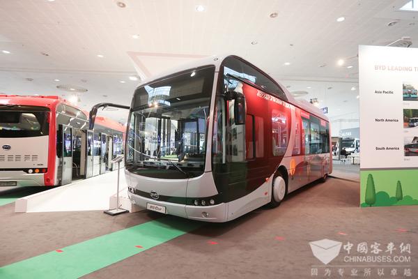 瑞典市场屡获大单,比亚迪北欧电动客车订单超百台