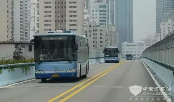 厦门5G时代到来,金龙智能BRT率先尝鲜