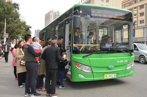呼和浩特:500台开沃纯电动公交陆续投运