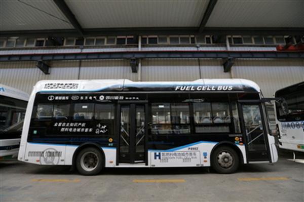 四川:氢燃料电池公交成都上路