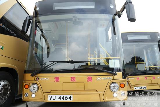 美车配美景! 港珠澳大桥斯堪尼亚·海格穿梭巴士初体验
