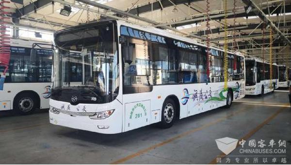 再获铜陵公交青睐 黄海12米气电混动客车九大技术特点解读