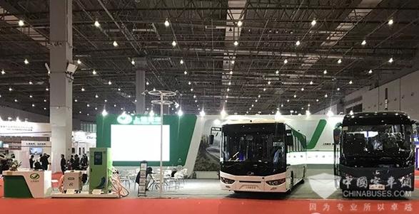 上饶客车新能源产业链组团亮相2018中国国际汽车商品交易会