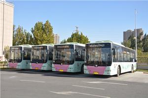 实拍北京大兴运营的中车电动公交